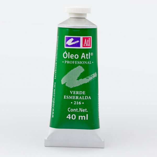 OLEO ATL-14 40ML 216 VERDE ESMERALDA